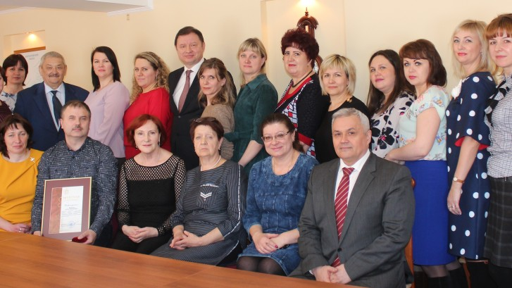 Коллектив ЦРБ и депутаты ЗС